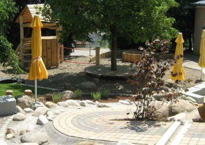 Spielplatz Überbetriebliche Kindertagesstätte Lörrach