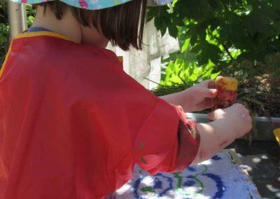 Naturerkundung Überbetriebliche Kindertagesstätte Lörrach